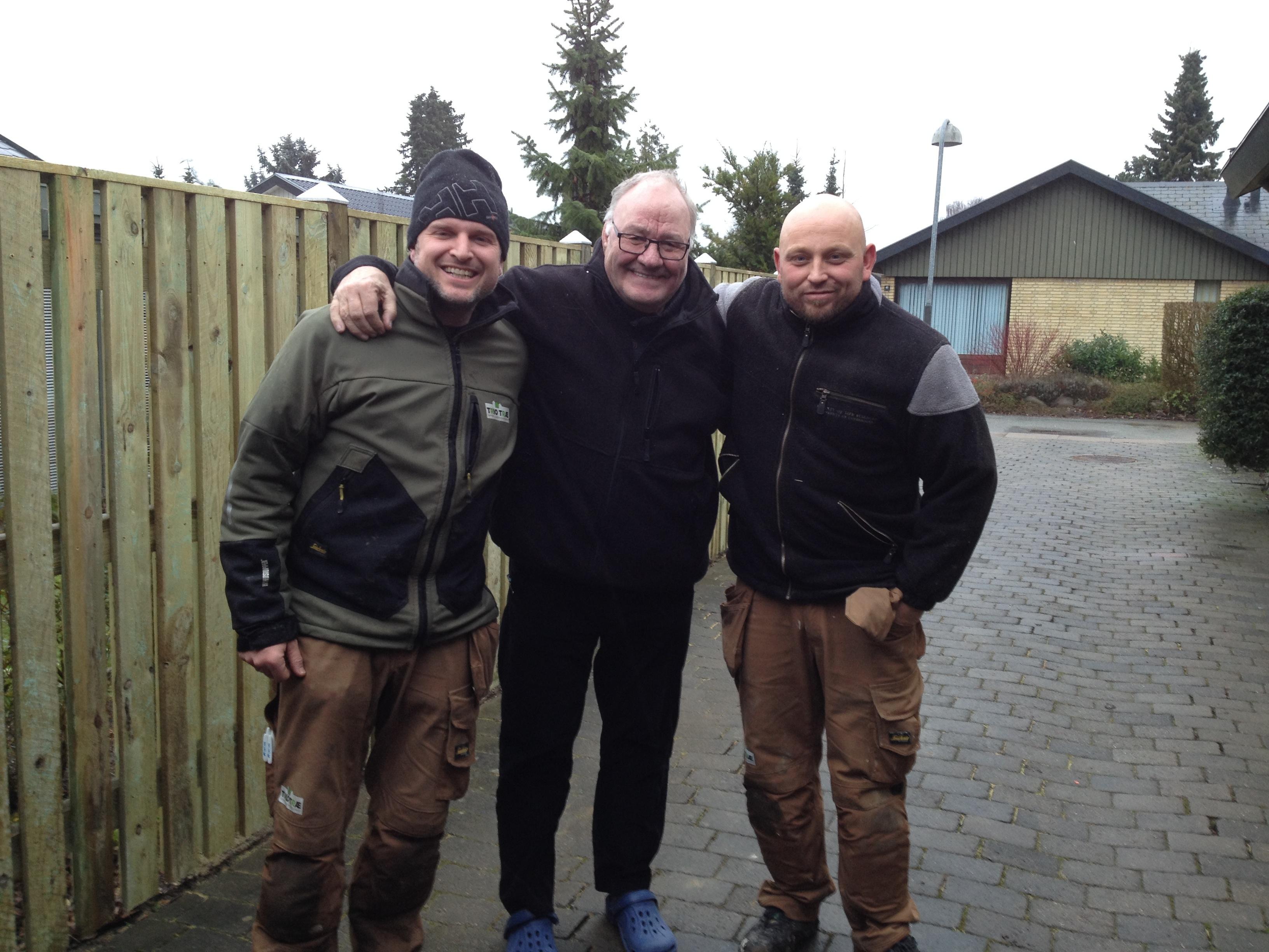 Trio Træ med legendariske Svend Gehrs